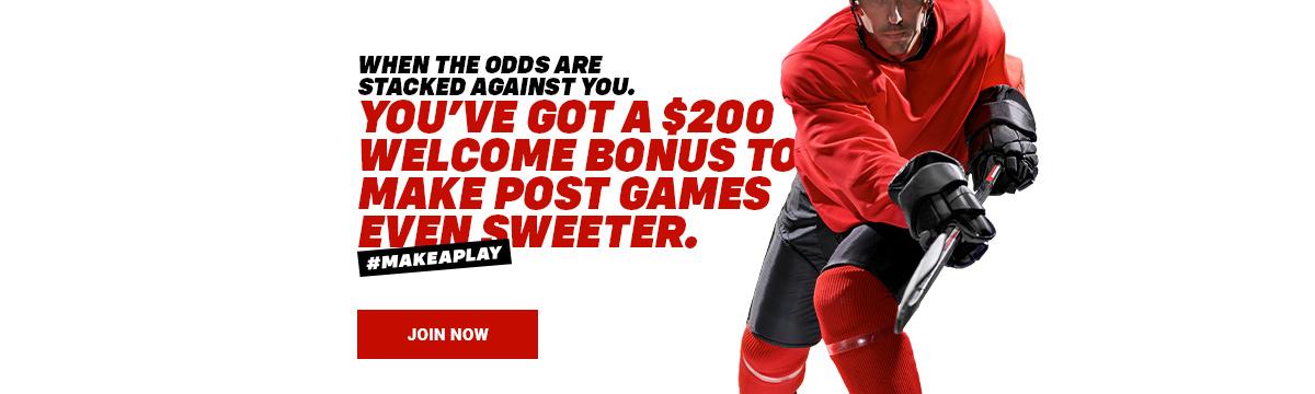 $200 NHL bonus.