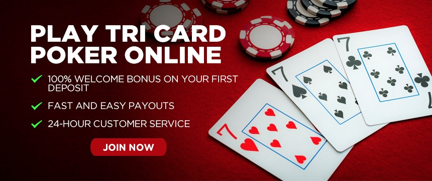 Online Tri Card Poker Guide at Bodog