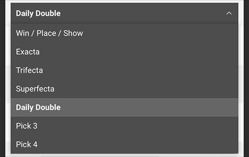 Image - Horses - Daily Double - Drop Down
