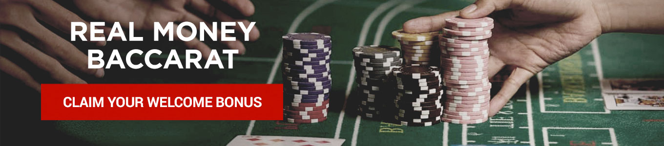 Play Real Money Baccarat at Bodog