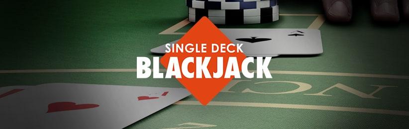 Online Casino Game Spotlight: Single Deck Blackjack - Bodog Casino