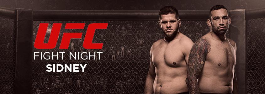 Apostar em UFC Fight Night Sydney no Bodog
