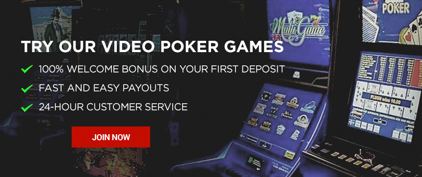 Play Video Poker Casino Game for Real Money