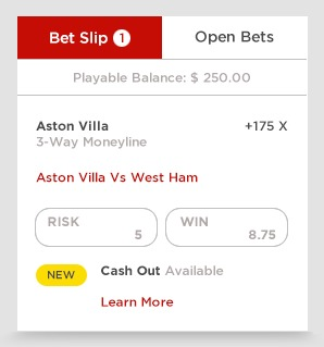 Open Bets